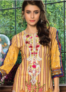 Salina by Regalia Embroidered Lawn Unstitched 3 Piece Suit SAL19L 02 - Spring / Summer Collection