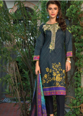 Salina by Regalia Embroidered Lawn Unstitched 3 Piece Suit SAL19L 05 - Spring / Summer Collection