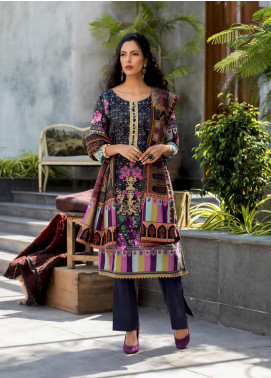 Salina by Regalia Textiles Embroidered Khaddar Unstitched 3 Piece Suit RGT20-KD2 02 - Winter Collection