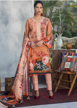 Salina by Regalia Textiles Embroidered Khaddar Unstitched 3 Piece Suit RGT20-KD2 04 - Winter Collection