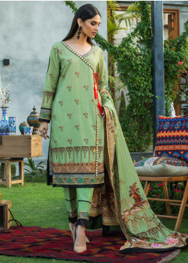 Salina by Regalia Textiles Printed Khaddar Unstitched 3 Piece Suit RGT20-KD3 04 - Winter Collection