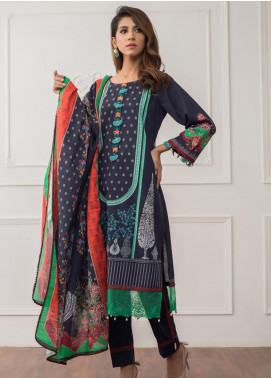 Salina by Regalia Textiles Printed Khaddar Unstitched 3 Piece Suit RGT20-KD3 08 - Winter Collection