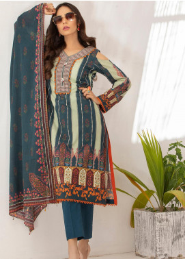 Salina by Regalia Textiles Printed Lawn Unstitched 3 Piece Suit SP20RG 02 - Summer Collection