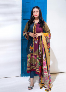 Salina by Regalia Textiles Printed Lawn Unstitched 3 Piece Suit SP20RG 09 - Summer Collection