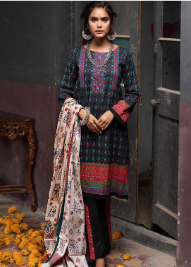 Salina by Regalia Textiles Printed Lawn Unstitched 3 Piece Suit SP20RG 10 - Summer Collection
