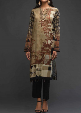 Salitex Printed Lawn Unstitched Kurties ST20DP 11 - Summer Collection