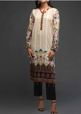 Salitex Printed Lawn Unstitched Kurties ST20DP 13 - Summer Collection