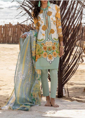 Salitex Embroidered Lawn Unstitched 3 Piece Suit ST20ET 493A - Spring / Summer Collection