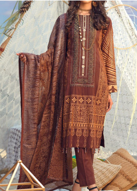 Salitex Embroidered Lawn Unstitched 3 Piece Suit ST20FL 502 A - Spring / Summer Collection