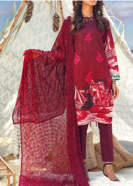 Salitex Embroidered Lawn Unstitched 3 Piece Suit ST20FL 503 A - Spring / Summer Collection