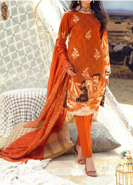 Salitex Embroidered Lawn Unstitched 3 Piece Suit ST20FL 503 B - Spring / Summer Collection