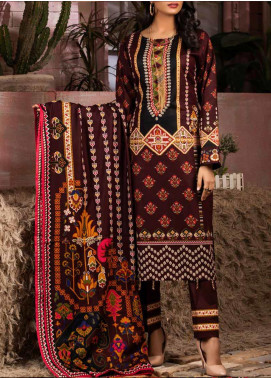 Salitex Printed Lawn Unstitched 3 Piece Suit ST20IL 11-A - Summer Collection