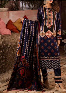 Salitex Printed Lawn Unstitched 3 Piece Suit ST20IL 11-B - Summer Collection