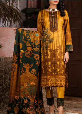 Salitex Printed Lawn Unstitched 3 Piece Suit ST20IL 12-A - Summer Collection