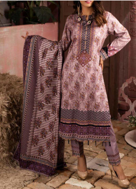 Salitex Printed Lawn Unstitched 3 Piece Suit ST20IL 2-A - Summer Collection
