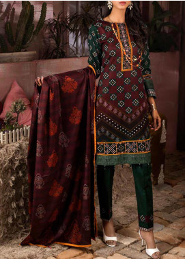 Salitex Printed Lawn Unstitched 3 Piece Suit ST20IL 3-A - Summer Collection