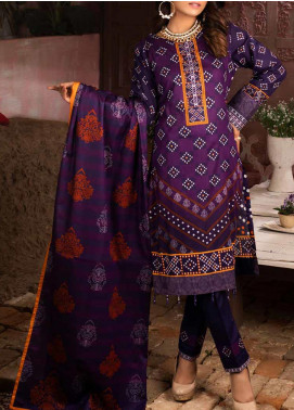 Salitex Printed Lawn Unstitched 3 Piece Suit ST20IL 3-B - Summer Collection