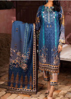Salitex Printed Lawn Unstitched 3 Piece Suit ST20IL 4-B - Summer Collection