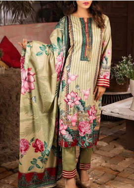 Salitex Printed Lawn Unstitched 3 Piece Suit ST20IL 6-A - Summer Collection