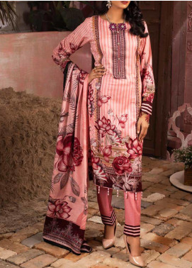 Salitex Printed Lawn Unstitched 3 Piece Suit ST20IL 6-B - Summer Collection