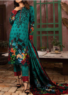 Salitex Printed Lawn Unstitched 3 Piece Suit ST20IL 7-A - Summer Collection