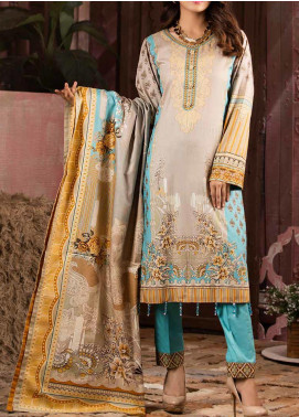 Salitex Printed Lawn Unstitched 3 Piece Suit ST20IL 8-B - Summer Collection