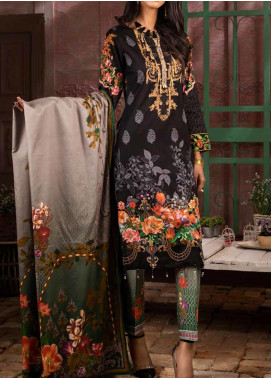 Salitex Printed Lawn Unstitched 3 Piece Suit ST20IL 9-A - Summer Collection
