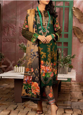 Salitex Printed Lawn Unstitched 3 Piece Suit ST20IL 9-B - Summer Collection