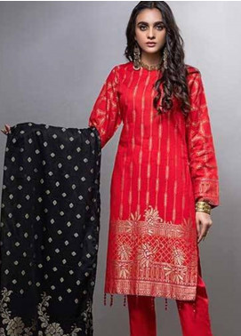 Salitex Embroidered Lawn Unstitched 3 Piece Suit ST20CJ-6 506 - Summer Collection