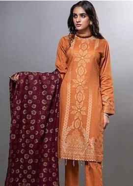 Salitex Embroidered Lawn Unstitched 3 Piece Suit ST20CJ-6 507 - Summer Collection