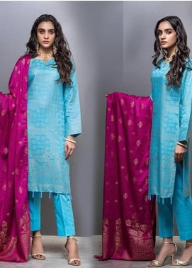 Salitex Embroidered Lawn Unstitched 3 Piece Suit ST20CJ-6 515 - Summer Collection