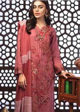 Salitex Embroidered Jacquard Unstitched 3 Piece Suit ST19E 297 - Festive Collection