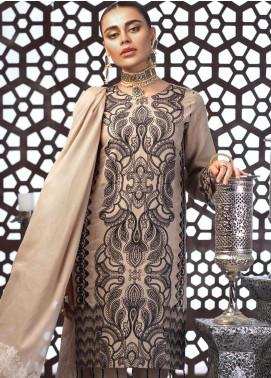 Salitex Embroidered Jacquard Unstitched 3 Piece Suit ST19E 298 - Festive Collection