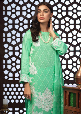 Salitex Embroidered Jacquard Unstitched 3 Piece Suit ST19E 301 - Festive Collection