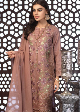 Salitex Embroidered Jacquard Unstitched 3 Piece Suit ST19E 304 - Festive Collection