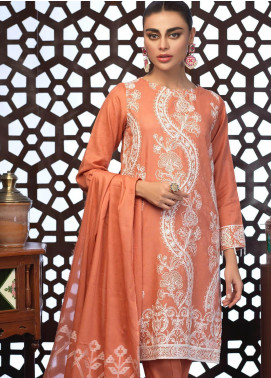 Salitex Embroidered Jacquard Unstitched 3 Piece Suit ST19E 306 - Festive Collection