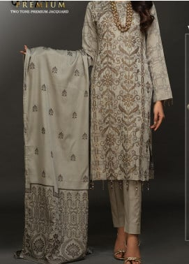 Salitex Embroidered Lawn Unstitched 3 Piece Suit ST20J-489 - Premium Collection