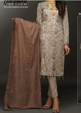Salitex Embroidered Lawn Unstitched 3 Piece Suit ST20J-490 - Premium Collection