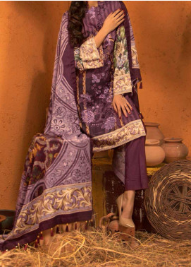 Salitex Embroidered Linen Unstitched 3 Piece Suit ST19LN 419 - Winter Collection