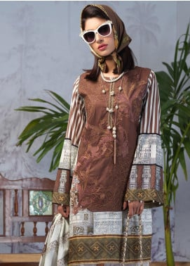 Salitex Embroidered Lawn Unstitched 3 Piece Suit ST19PL 308A - Mid Summer Collection