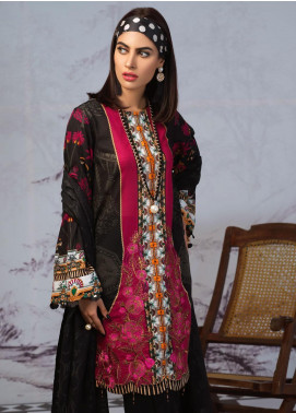 Salitex Embroidered Lawn Unstitched 3 Piece Suit ST19PL 309A - Mid Summer Collection