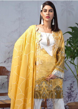 Salitex Embroidered Lawn Unstitched 3 Piece Suit ST19PL 312A - Mid Summer Collection
