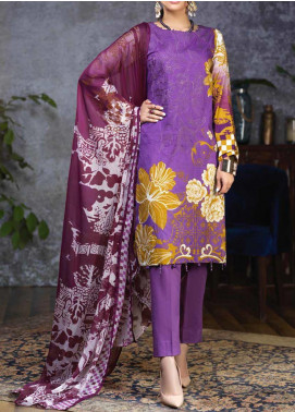 Salitex Embroidered Cambric Unstitched 3 Piece Suit STS19-1 171B - Summer Collection