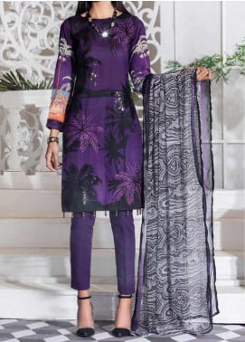 Salitex Embroidered Lawn Unstitched 3 Piece Suit ST20SS 180 A - Summer Collection