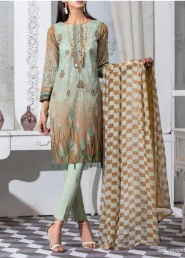 Salitex Embroidered Lawn Unstitched 3 Piece Suit ST20SS 184 B - Summer Collection