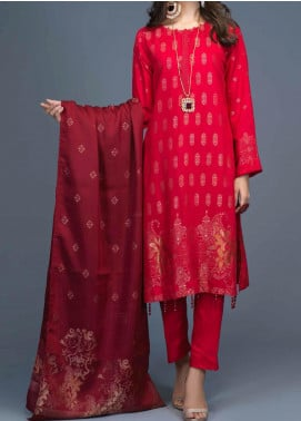 Salitex Jacquard Viscose Unstitched 3 Piece Suit ST20VJ 00193 - Winter Collection