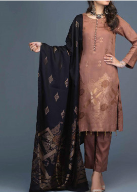Salitex Jacquard Viscose Unstitched 3 Piece Suit ST20VJ 00200 - Winter Collection