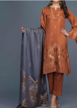 Salitex Jacquard Viscose Unstitched 3 Piece Suit ST20VJ 00203 - Winter Collection