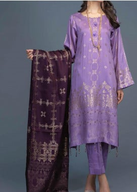 Salitex Jacquard Viscose Unstitched 3 Piece Suit ST20VJ 00204 - Winter Collection