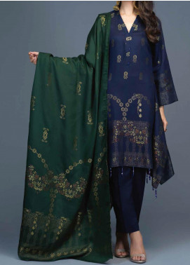Salitex Jacquard Viscose Unstitched 3 Piece Suit ST20VJ 00208 - Winter Collection